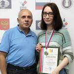 С. Ежов и Анастасия Кононова